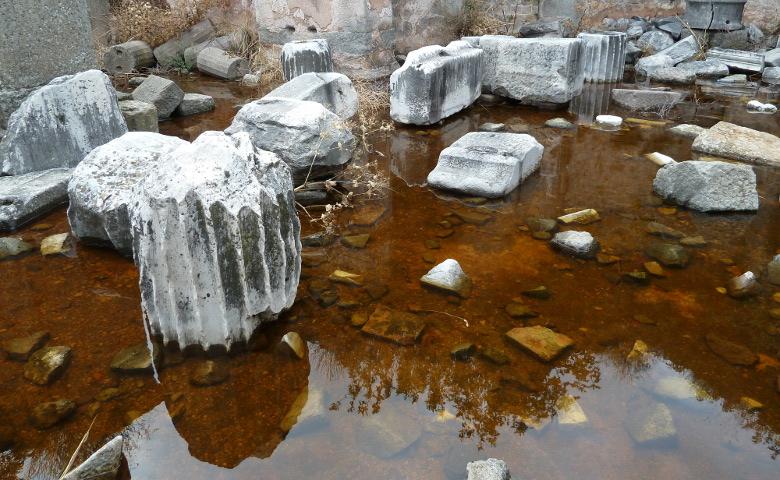 Ruinen in Bergama (fotografiert 2011)