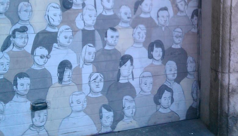 Streetart in Valencia (fotografiert 2014)